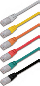 U/UTP unshielded twisted 4 pairs category 6A patch cord